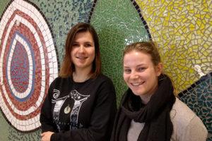 Romana en Joella studenten Food Innovation - HAS Blog - HAS Hogeschool