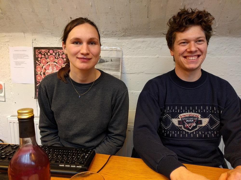 Vera Bachrach en Sascha Landshoff van Coco Conserven - HAS Blog - HAS Hogeschool