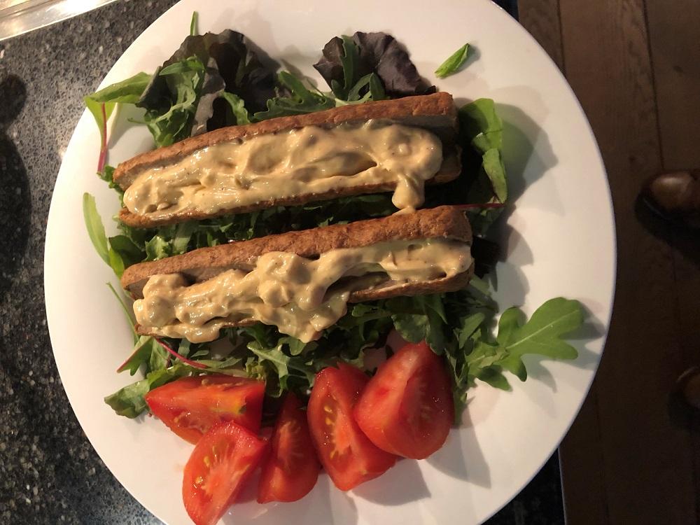 Frikandellen-salade